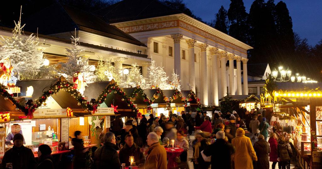 Weihnachtsmarkt Baden Baden öffnungszeiten.Baden Badener Christkindelsmarkt Kurhaus Baden Baden